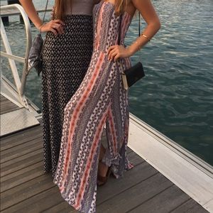 Right colorful maxi wet seal dress